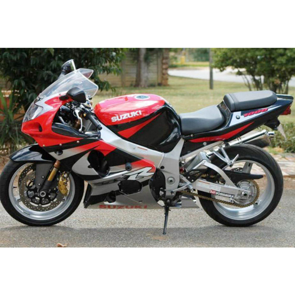injection red fairing frame for suzuki gsxr 1000 k1 k2 01. Black Bedroom Furniture Sets. Home Design Ideas