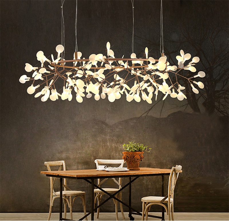 Modern plant pendant lamp led chandelier lighting heracleum ii modern plant pendant lamp led chandelier lighting heracleum ii ceiling light new mozeypictures Image collections