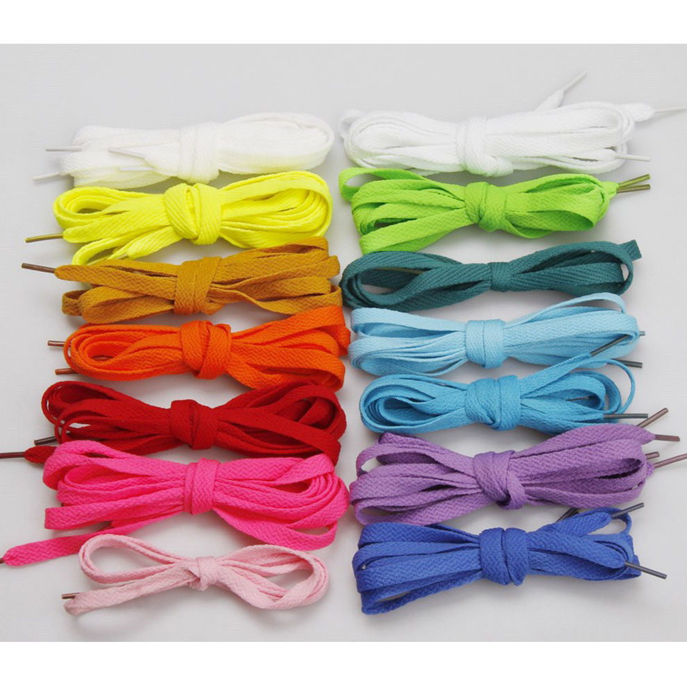 1-pairs-Light-Yellow-Athletic-Shoe-Laces-Shoelaces-Sport-Sneakers-Boots