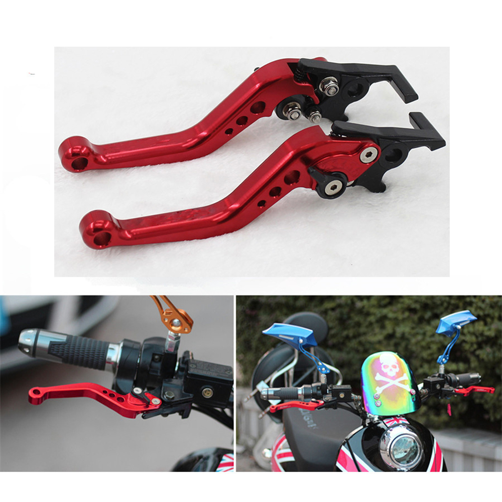 18.5cm CNC Modified Lever Short Disc Brake Handle Tool For Motorcycle Bike