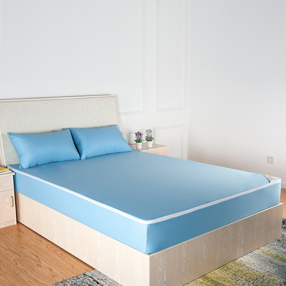 Waterproof Mattress Pad Protector Bed Fitted Sheet Cover