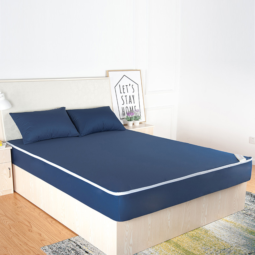 Details About Waterproof Mattress Pad Protector Bed Ed Sheet Cover Twin Full Queen King
