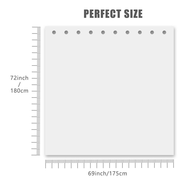 Summer Beach Conch Starfish Printed Pattern Bathroom Shower Curtain F9B4