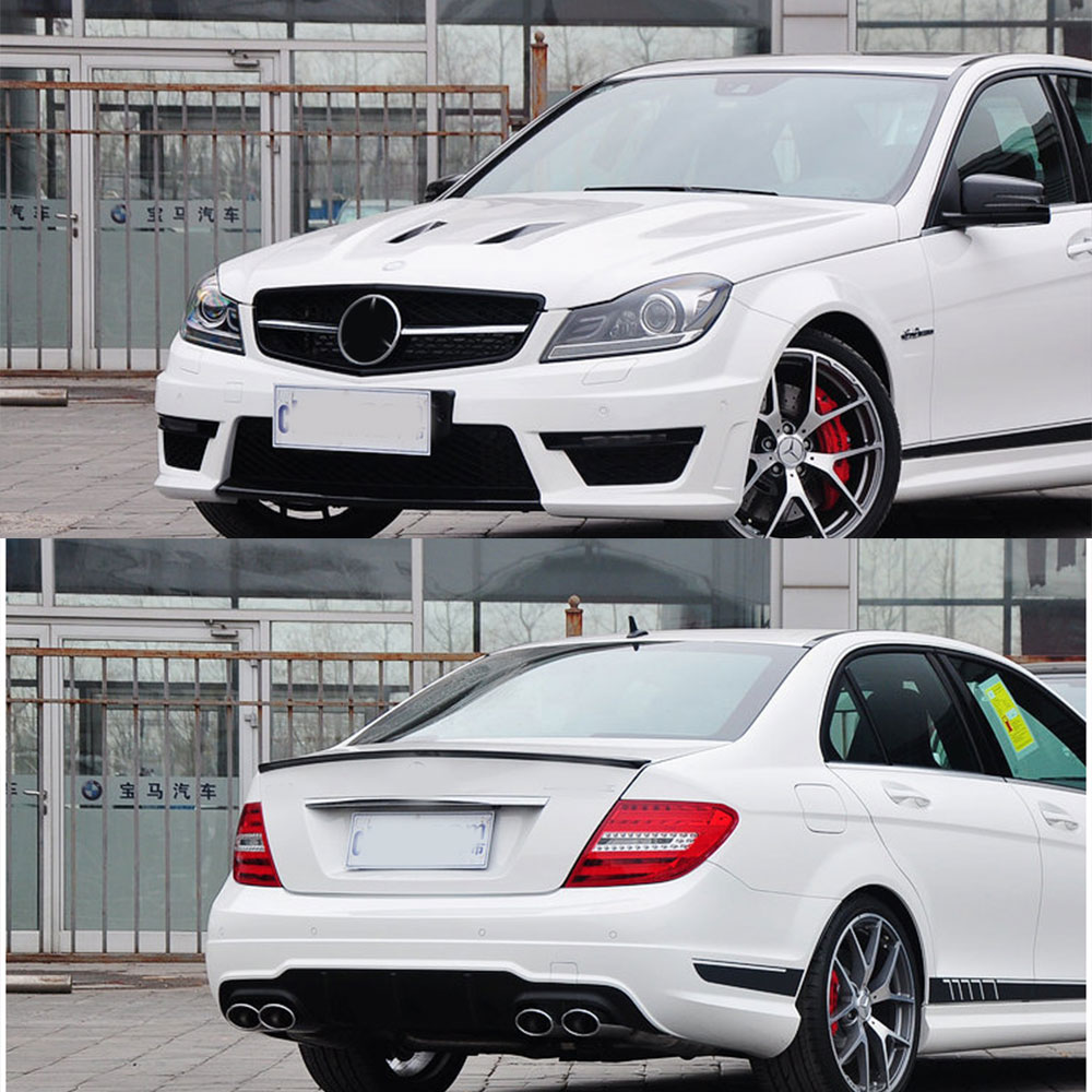 Amg c63 507 side stripe decal stickers matt black for for A mercedes benz product sticker