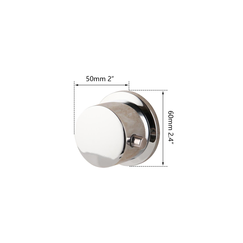 Chrome 3 Handles Faucet Part Hot/&cold Knobs Bathroom Basin Sink Faucet Replace