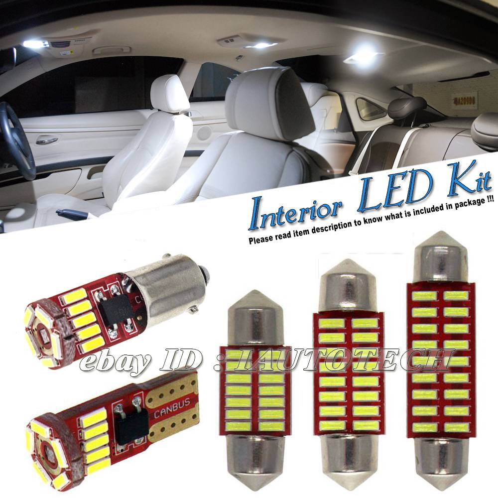 INTERIOR CEILING LED SMD Bulbs KIT WHITE CAN BUS fit Audi A5 S5 B8 SPORTBACK