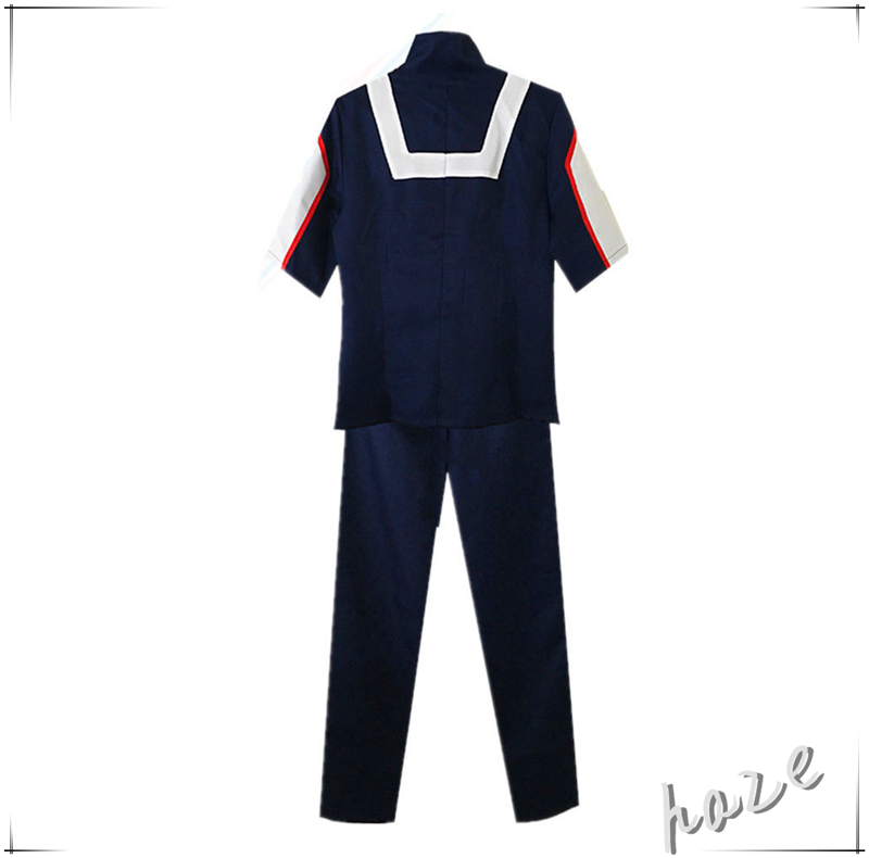 My Hero Academia Boku no Hero Academia Kohei Horikoshi gym  Men Cosplay Costume