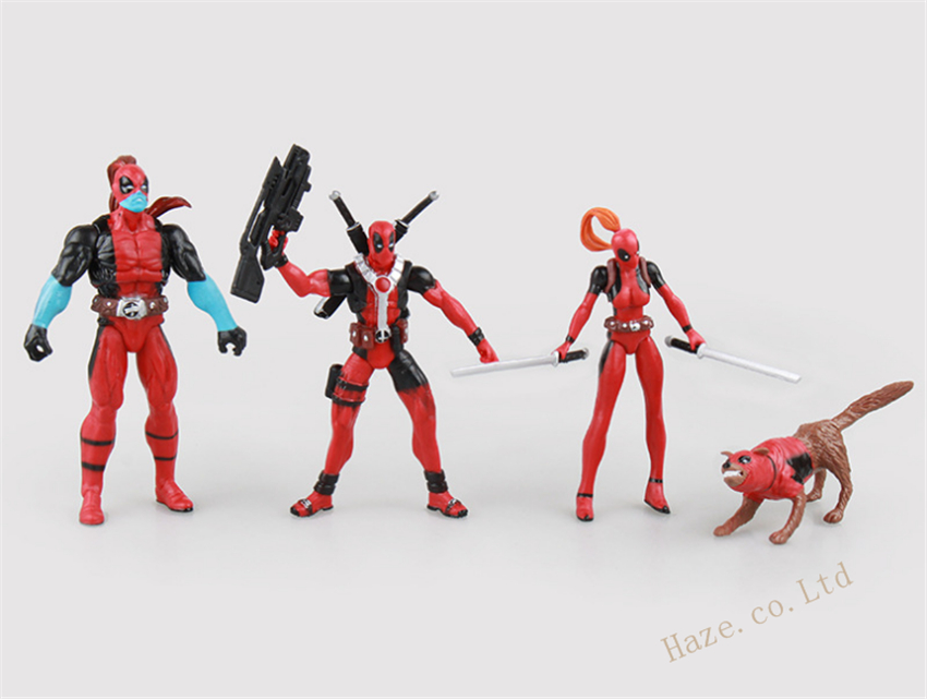 Deadpool Action Figure Model Kids Toy Display Wade Wilson PVC Superhero New Gift
