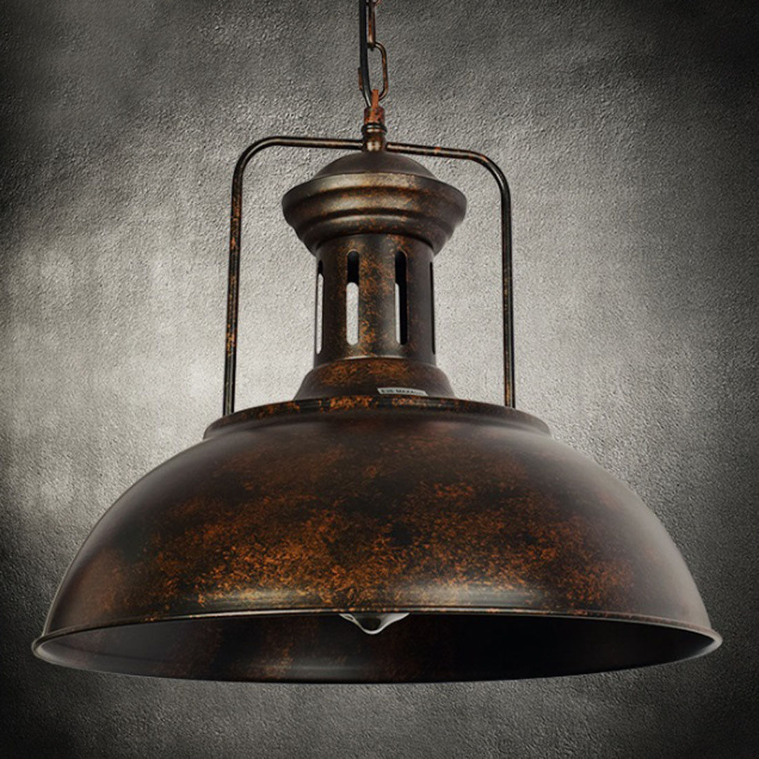 Industrial Pendant Light Vintage Ceiling Lamp Rustic