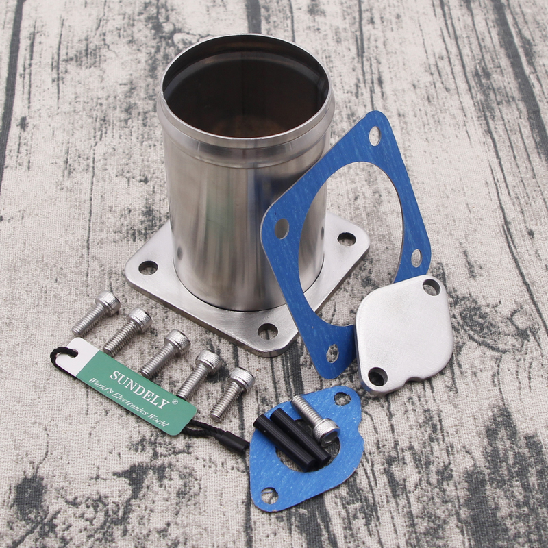 For Land Rover Discovery 2 /& Defender TD5 EGR Valve Removal Kit Blanking Plate