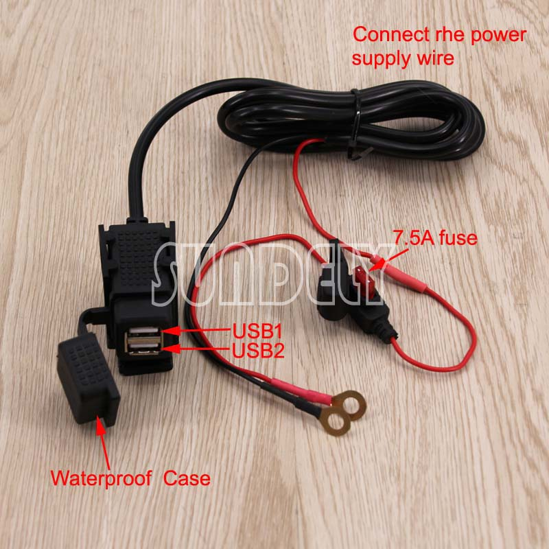 12 24V Universal Motorcycle Mobile