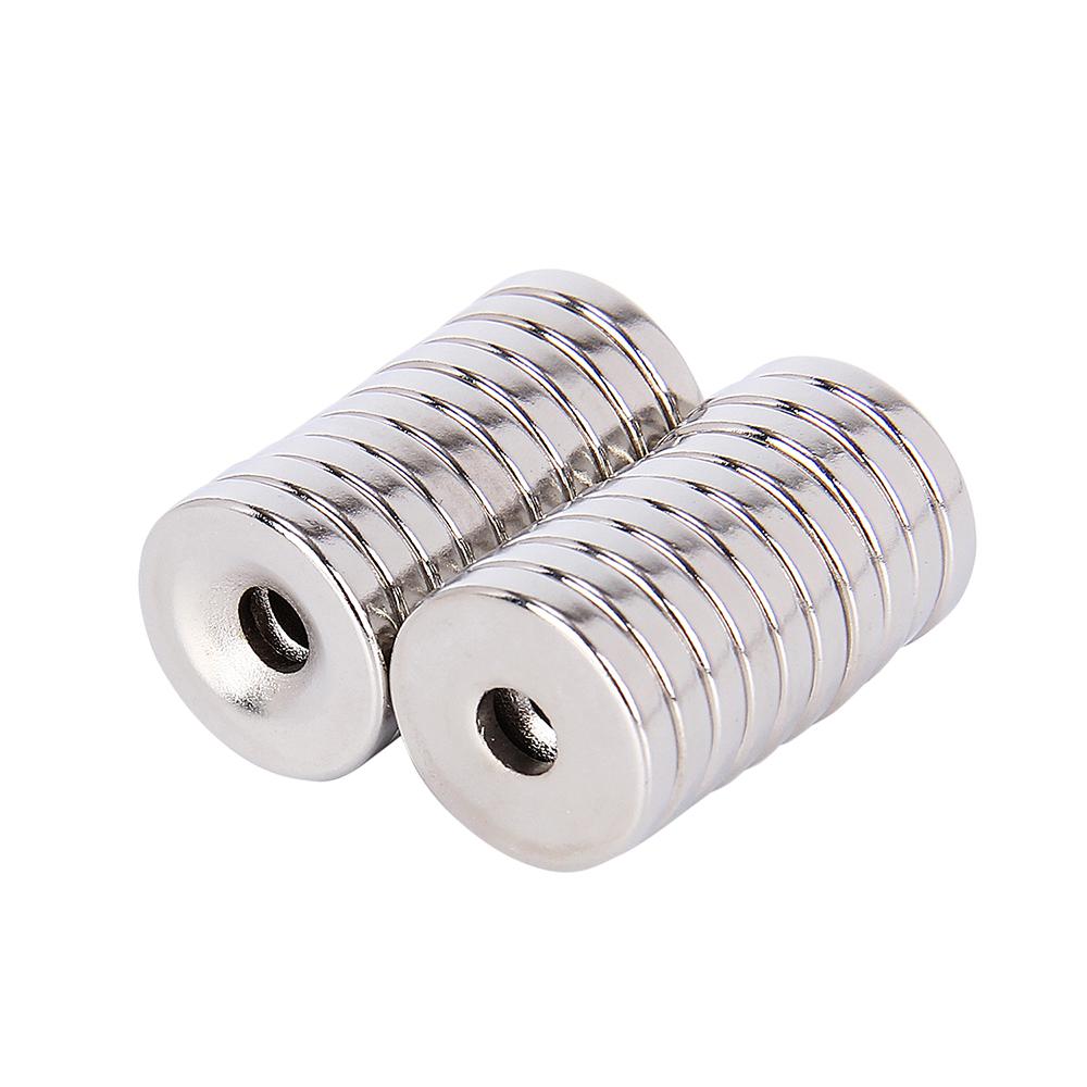 20 Stk N35 Starke Neodym Supermagnete Magnete Permanentmagnet 15x3x4mm Pinnwand