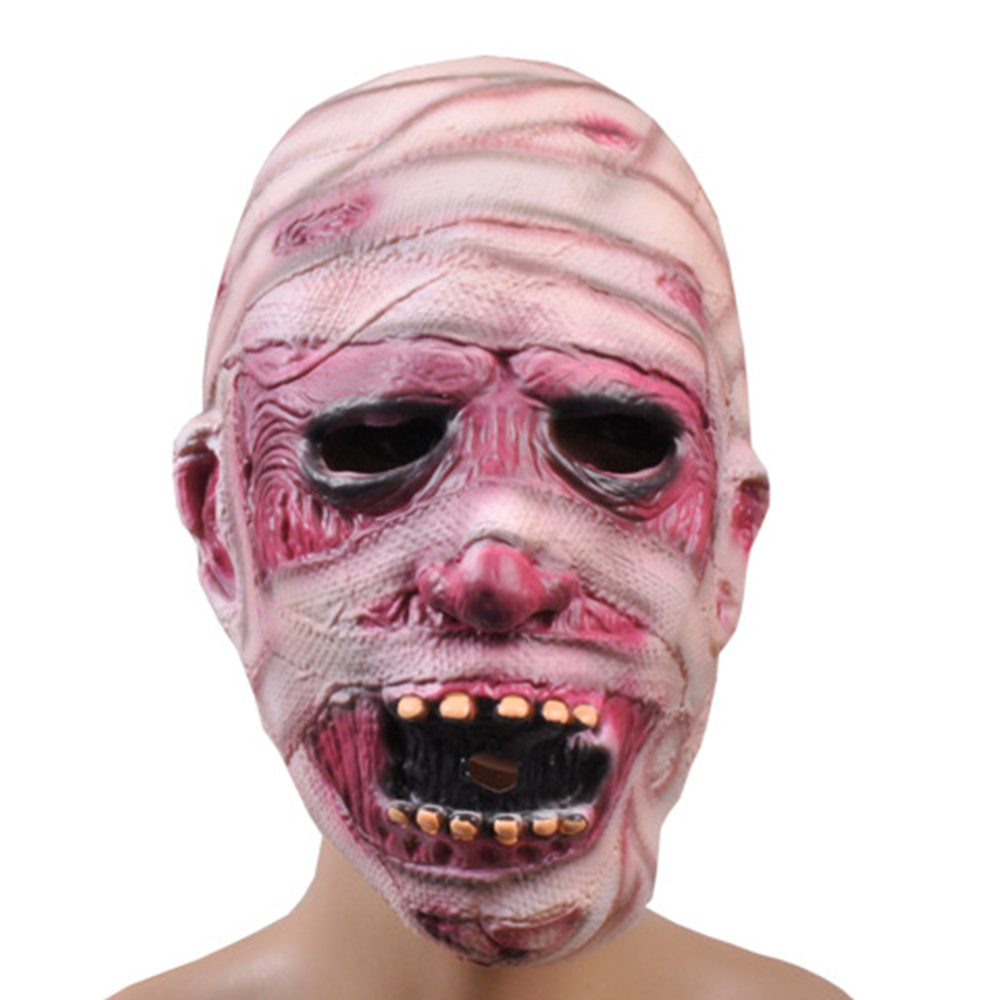 Halloween Mask Adult The Dreaded Zombie Horror Scary Monster Mummy ...