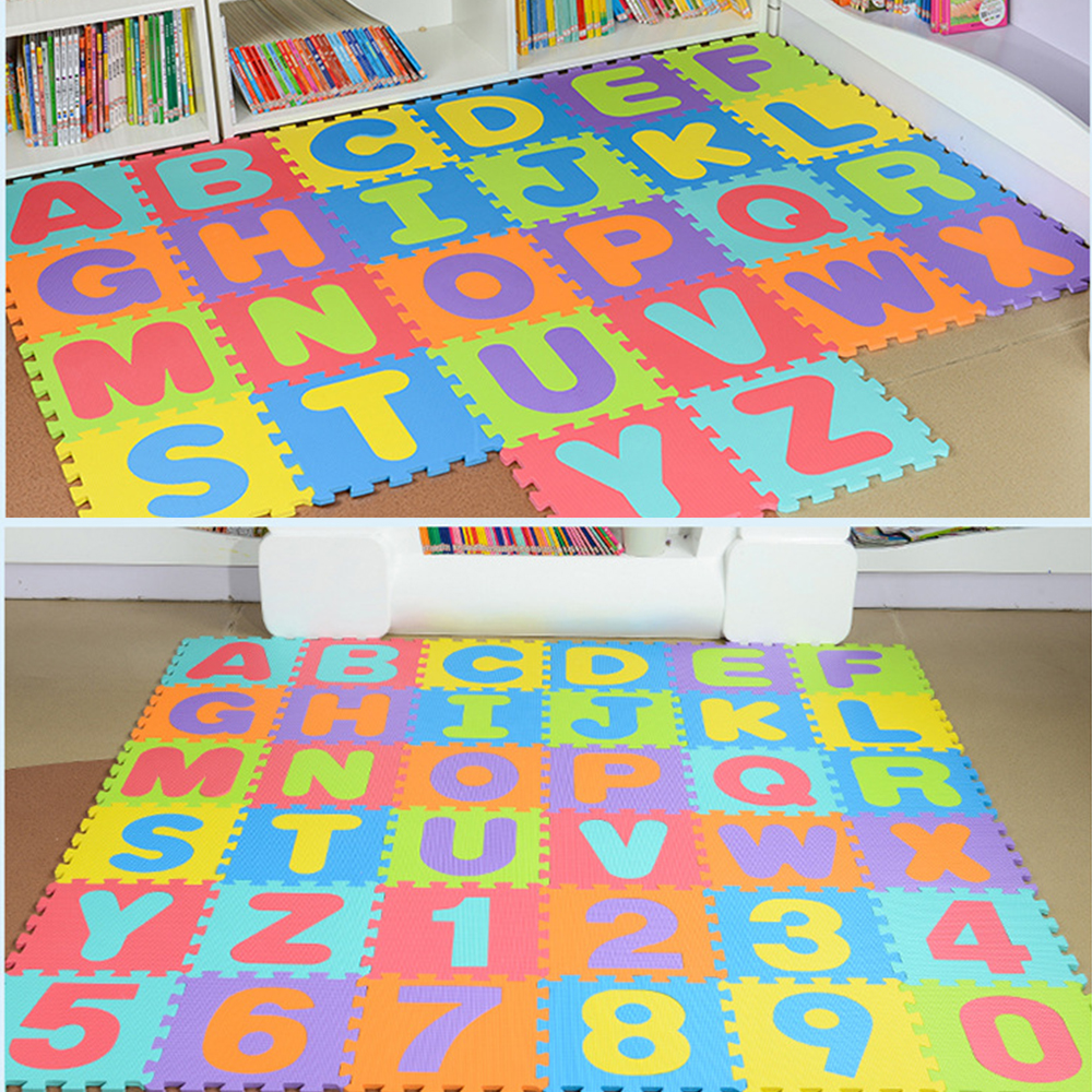 Puzzle Learning Alphabet Kid 36 Pcs Abc Floor Play Kid