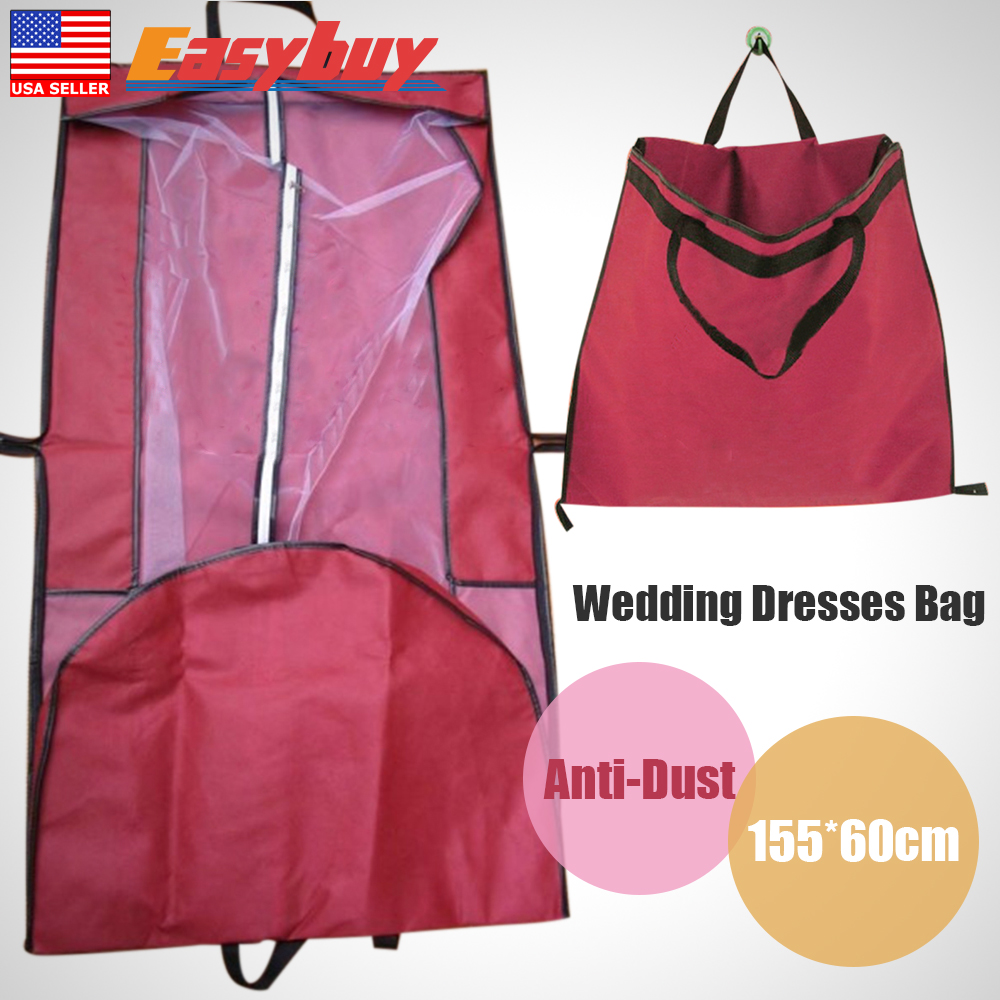 wedding dress protective bag wedding dress storage Wedding Bridal Long Dress Gown Garment Storage Protective Bag Cover Case