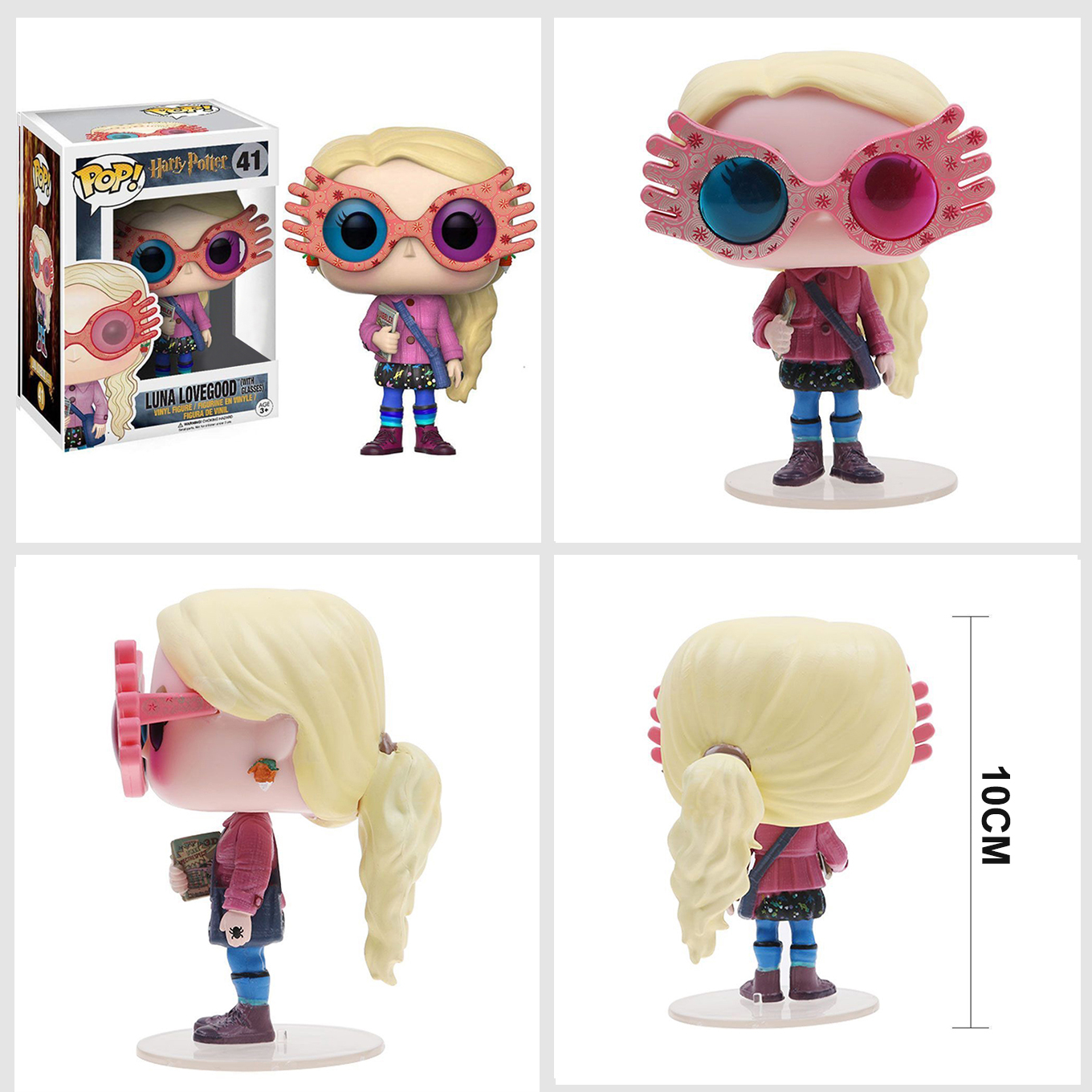 Junko Pop Harry Potter Luna Lovegood With Glasses 41