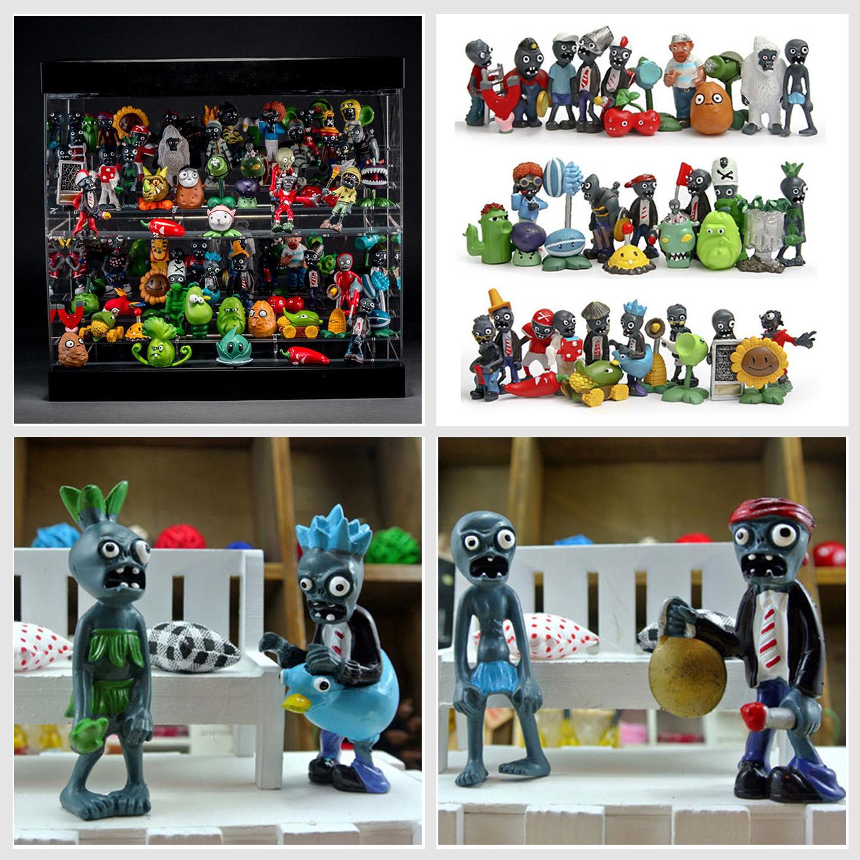 40pcs Plants Vs Zombies Figures Set Pvz Kids Toy