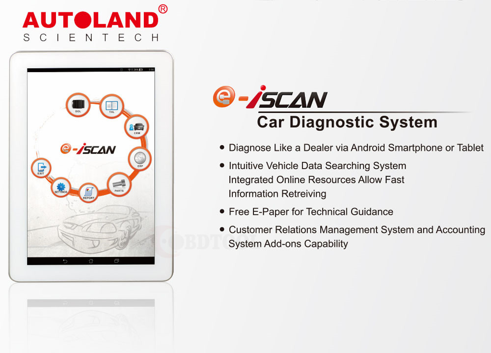 AUTOLAND iSCAN-e All-In-One Enthusiast Diagnostics Scan Tool