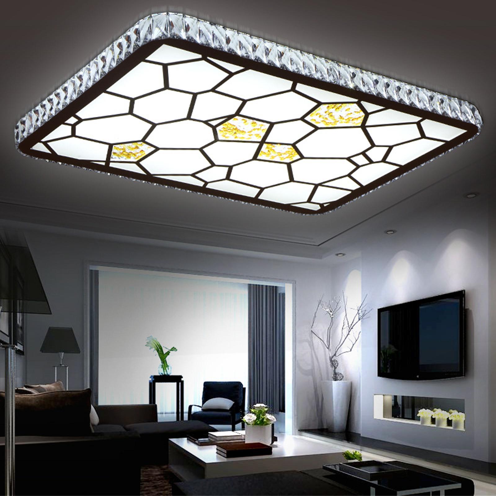 LED Deckenlampe Deckenleuchte Wohnzimmer Wasserwuerfel Designlampe 30W 48W
