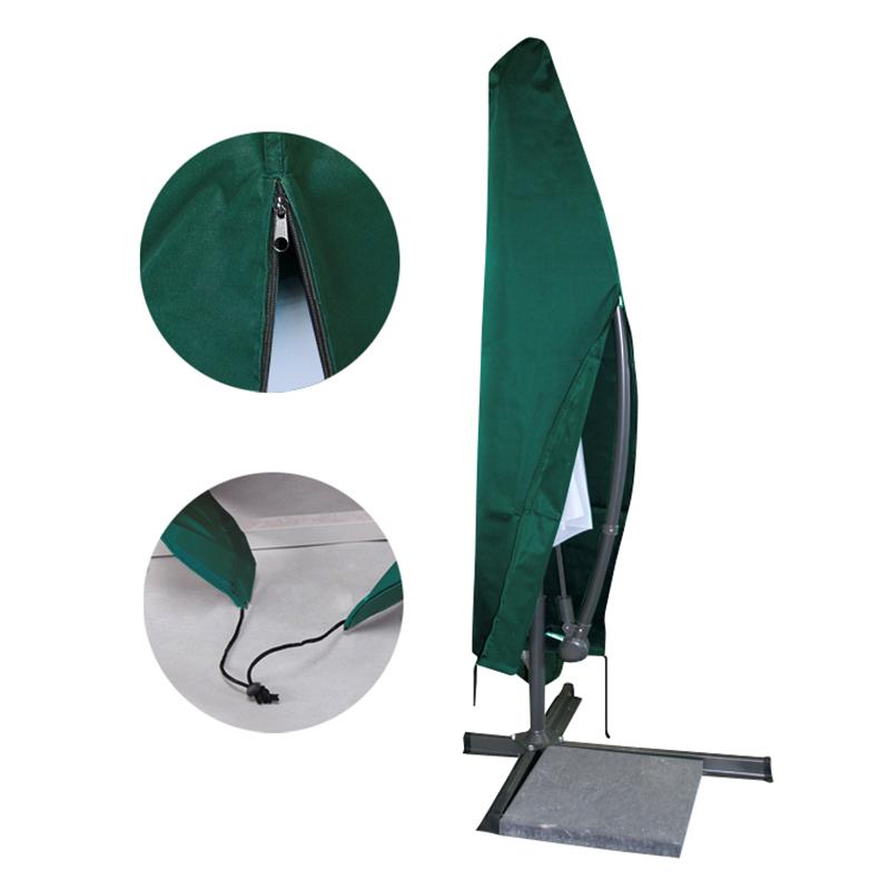 schutzh lle ampelschirm pe schutzhaube sonnenschirm gartenschirm abdeckplane ebay. Black Bedroom Furniture Sets. Home Design Ideas