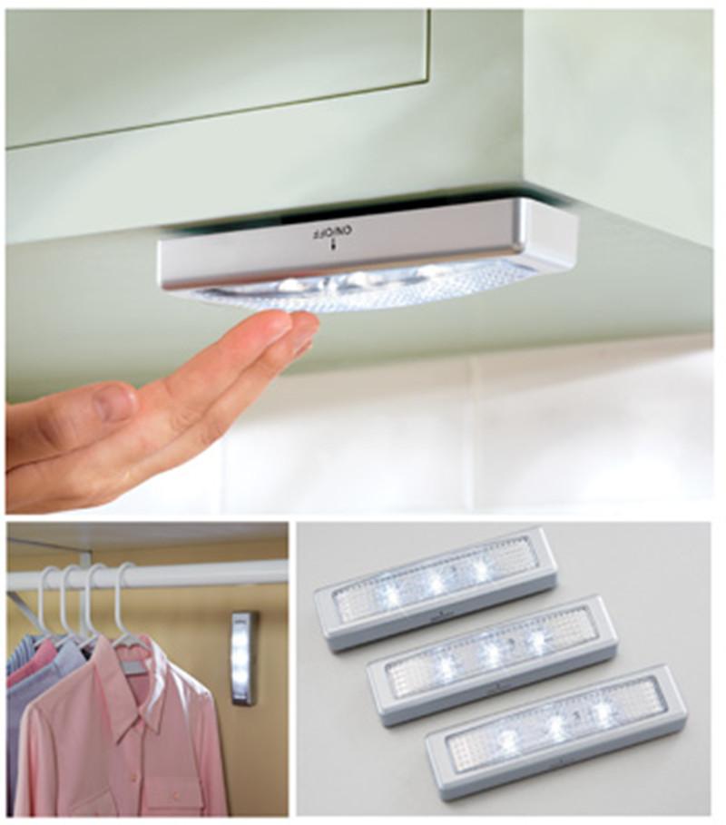 Led Kitchen Under Cabinet Lighting Wireless Counter Night