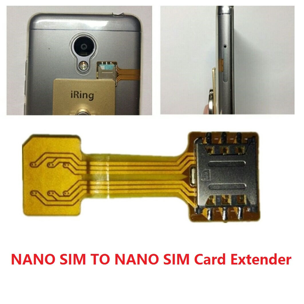 nano sim Disclaimer: once you cut your card, there's no going backonce it fits the nano-sim form factor it won't work as a micro-sim card anymore, meaning you won't be able to swap your card back and forth between devices that take different card sizes.