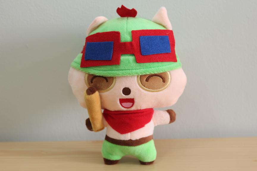 League of Legends Medium Size 20cm Cute LOL TEEMO Plush Toy Doll ...
