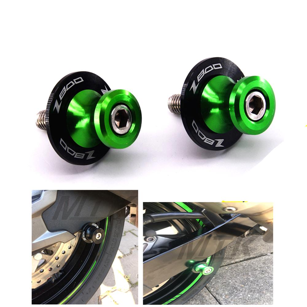 Motorrad Schwinge Spule Schieber stehen schrauben Für KAWASAKI Z900 Z 900 M8
