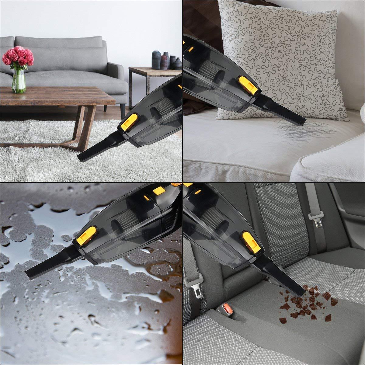 akku handstaubsauger 2500mah akku staubsauger beutellos. Black Bedroom Furniture Sets. Home Design Ideas