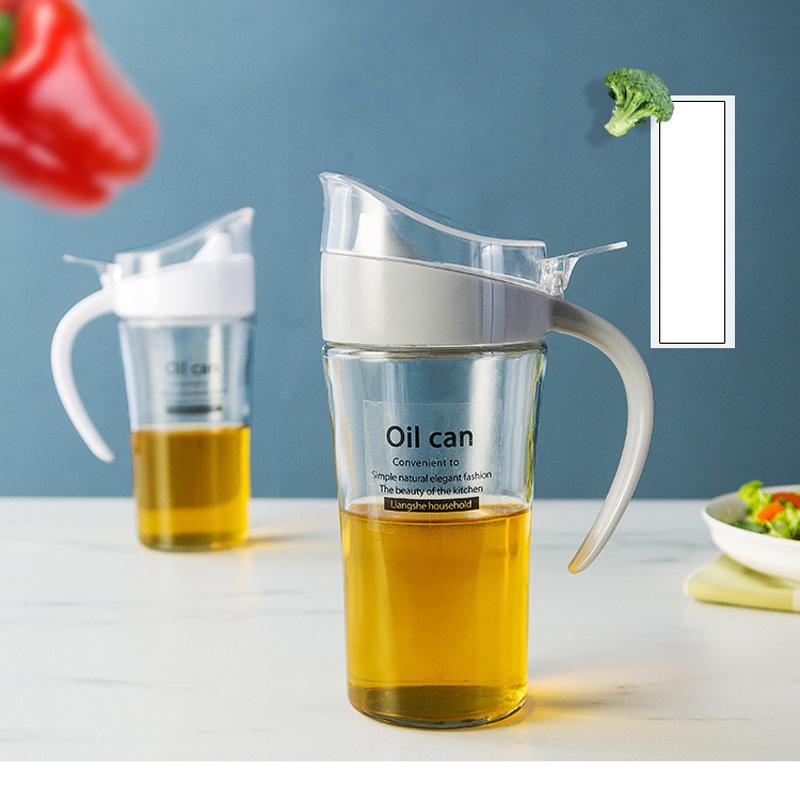 Olive Oil & Vinegar Dispensers Bottle Pot Can Kitchen Cooking Tool ...