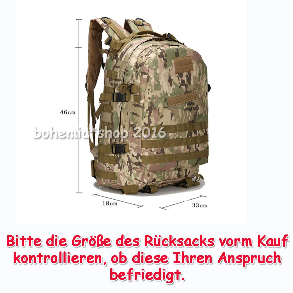 7ebaf1f997efe 30 40L Sport Army Rucksack Kampfrucksack Wasserdicht Outdoor ...