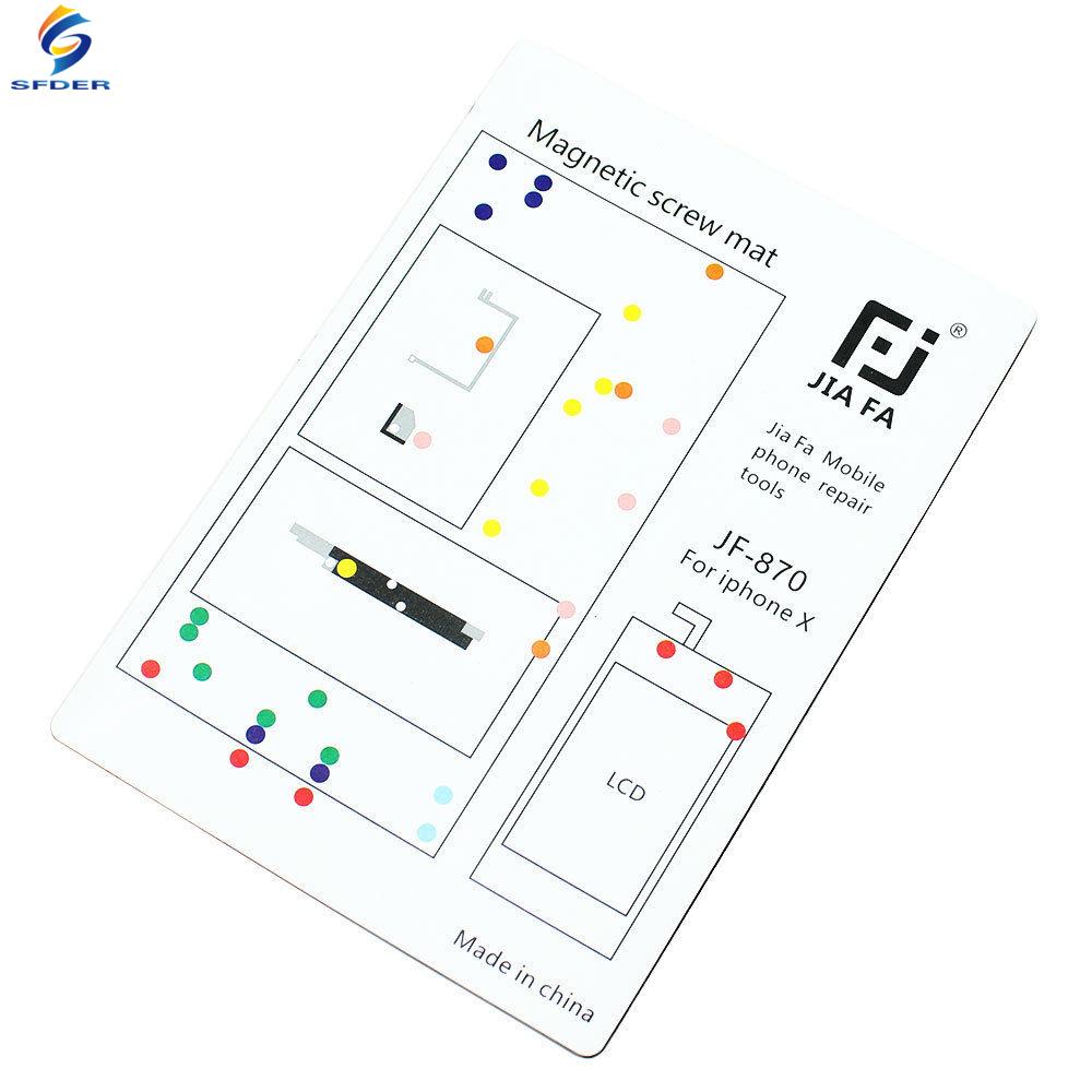 repair tool guide magnetic screws keeper chart mat for