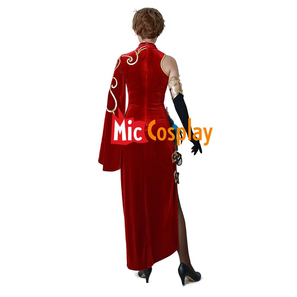 a5dffa269 Cinder Fall Cheongsam Cosplay Costume RWBY Volume 4 Halloween Women Outfit