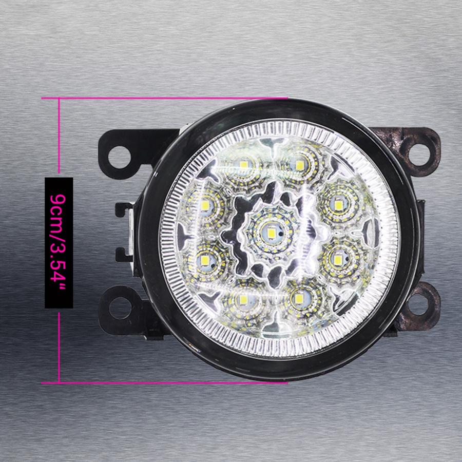 LED Driving Fog Lights DRL White Bulbs Lamps For NISSAN