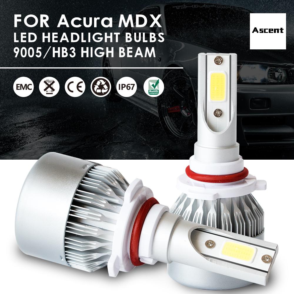 Front 9005 HB3 LED Headlight Conversion Kits Bulbs Beam