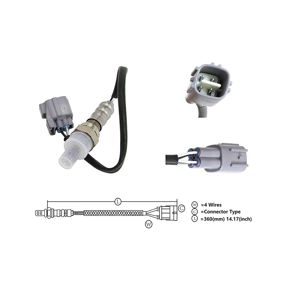 Car Air Fuel Ratio O2 Oxygen Sensor For Toyota Camry Solara Rav4 Lexus 4 Wire Diagram Upper Or Down Es330