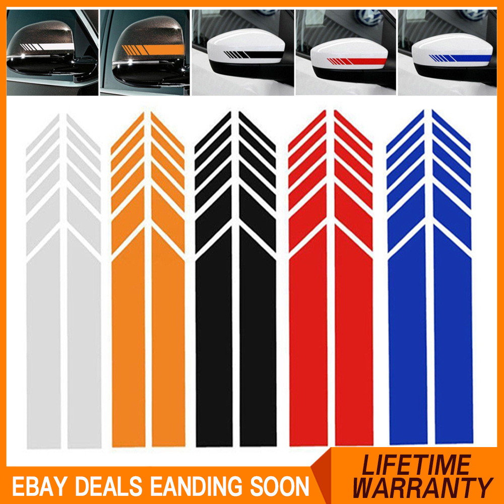 """110/""""X 2.56/"""" Car Body Side Banner Vinyl Graphic Sticker Stripe Decal Blade R22"""
