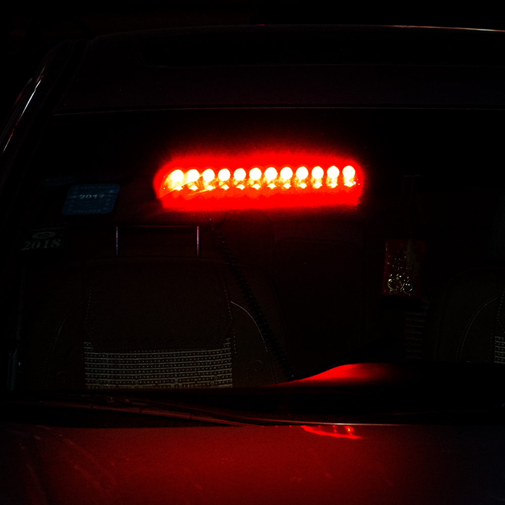 2x 12 Led Strobe Light Bar Beacon Emergency Warning