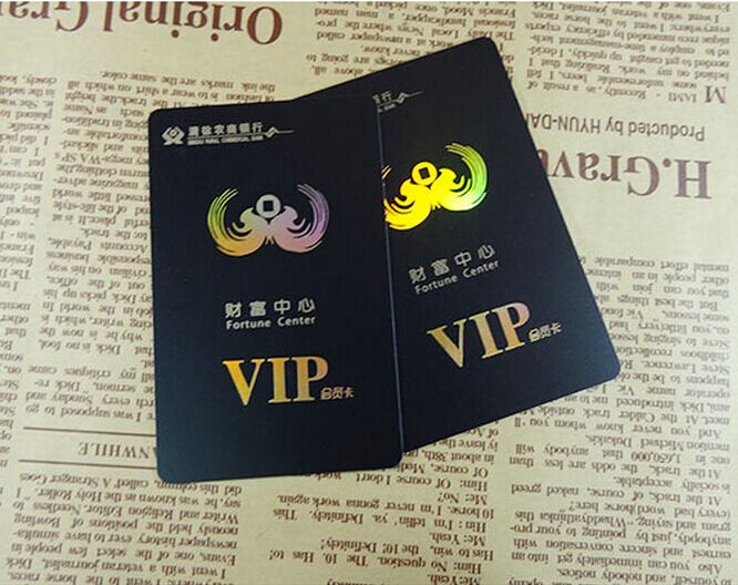 500 high end custom membership vip business cards printing high end membership vip thick business cards printing hologram foil gold foil reheart Gallery