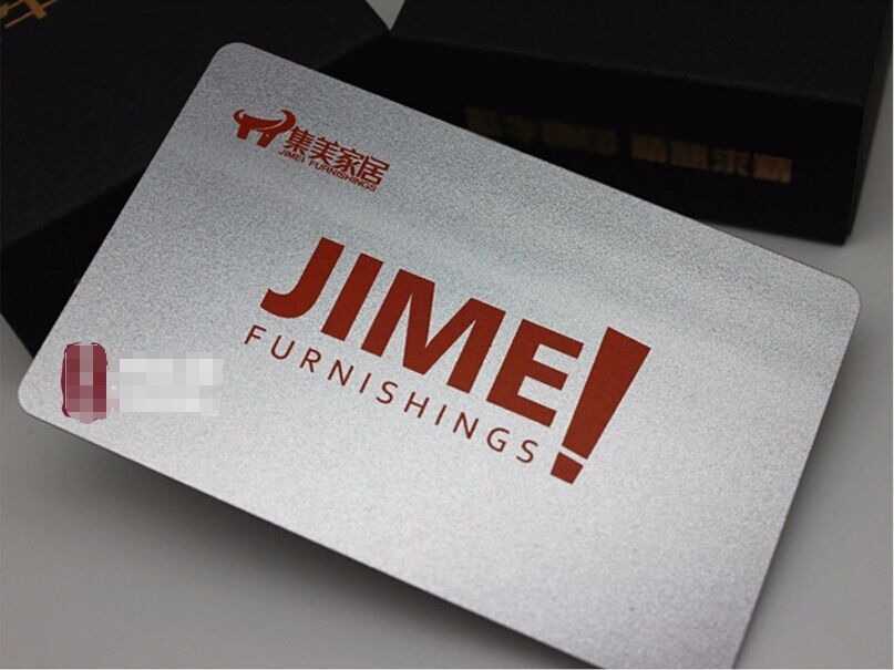 250 Pvc Plastic Vip Gift Card Thick Business Cards Printing