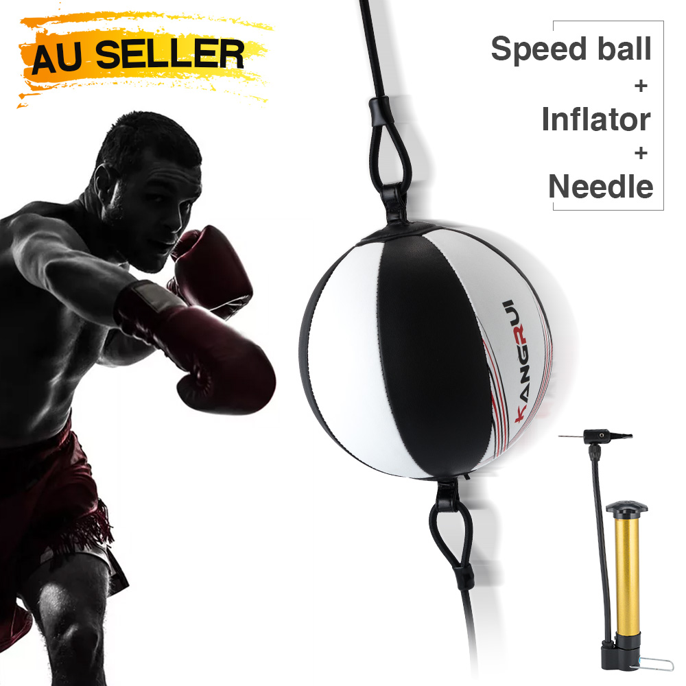 Double End MMA Boxing Workout Speedball Speed Training Ball Dodge Punching Bag