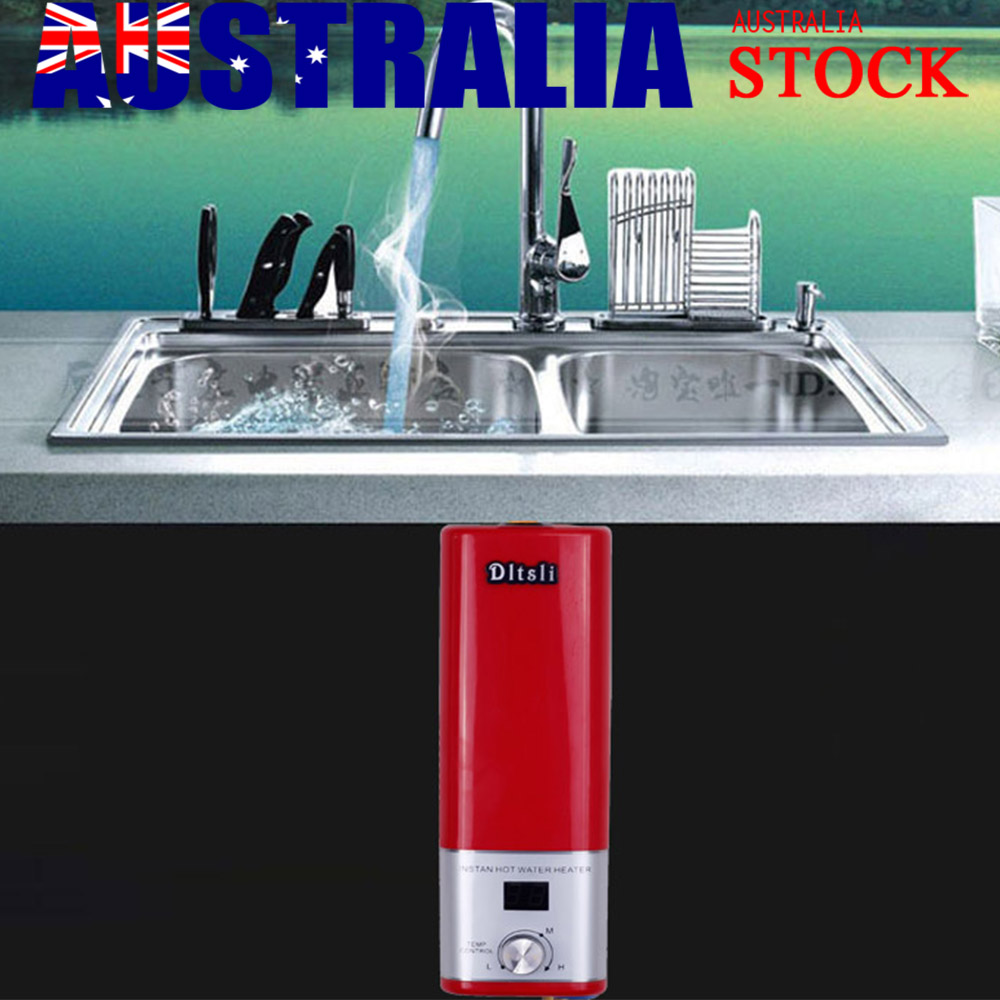 Instant Hot Electric Tap Faucet Hot Water System Bathroom Water ...