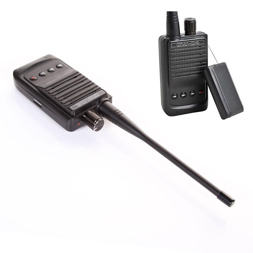 CW-04 HIGH SENSITIVITY pickup mic spy bug wireless audio Transmitter  receiver