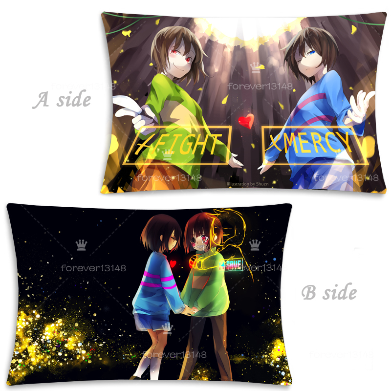 Hot Game Undertale Frisk Cute Dakimakura Hugging Body Pillow Case Cover 35x55CM