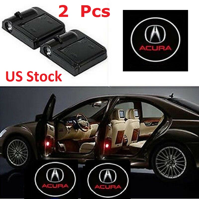 Brand NEW Car Door LED Projector Welcome Logo Ghost Shadow Lights fit Acura Logo