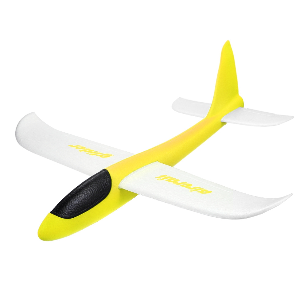EPP Hand Launch Throwing Glider Indoor Outdoor Frisbees Inertial Foam Airplane