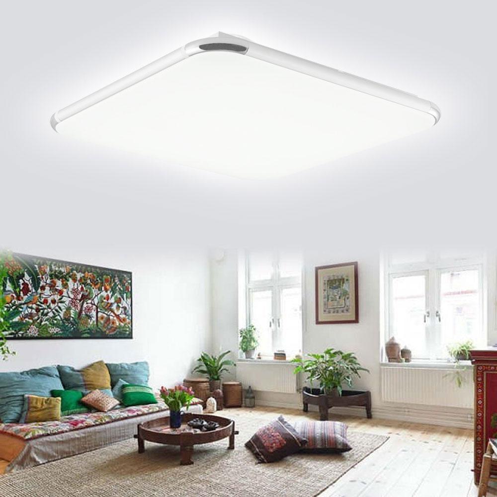 LED Deckenleuchte 12 72W Deckenlampe Dimmbar Wohnzimmer Badleuchte