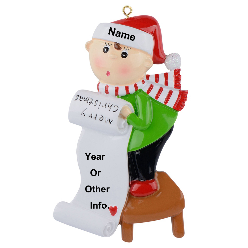 MAXORA Personalized Christmas Nurse Ornament Xmas Gift With Gift Box
