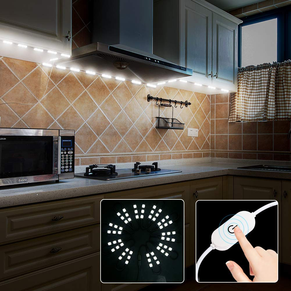 UL Power supply /& Optional Dimmer Under Cabinet LED Light for Kitchen Counter