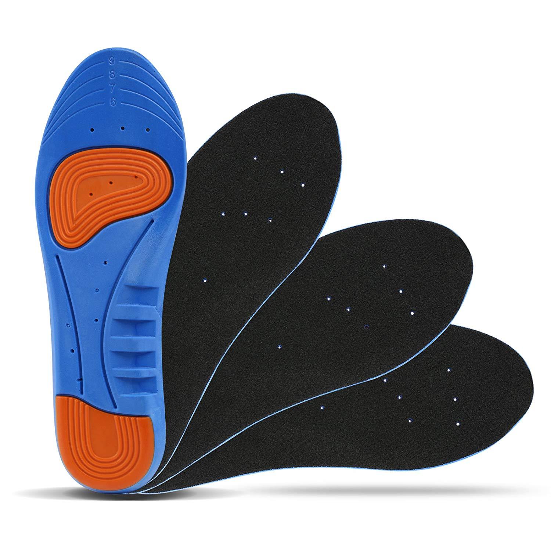 Details zu 4x Einlegesohlen Arbeitsschuhe Schuheinlagen Gel Einlagen Fußbett Schuhe Sport